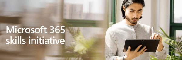Microsoft 365 skills initiative. Oferta Powered devices