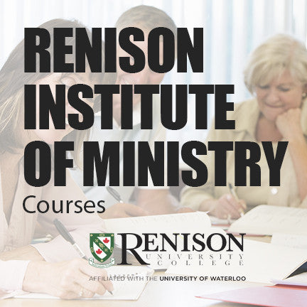 Renison Institute of Ministry Courses