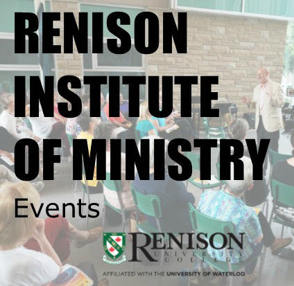 Renison Institute of Ministry Events