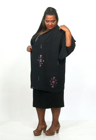 Twist Knot Lurex Tunic