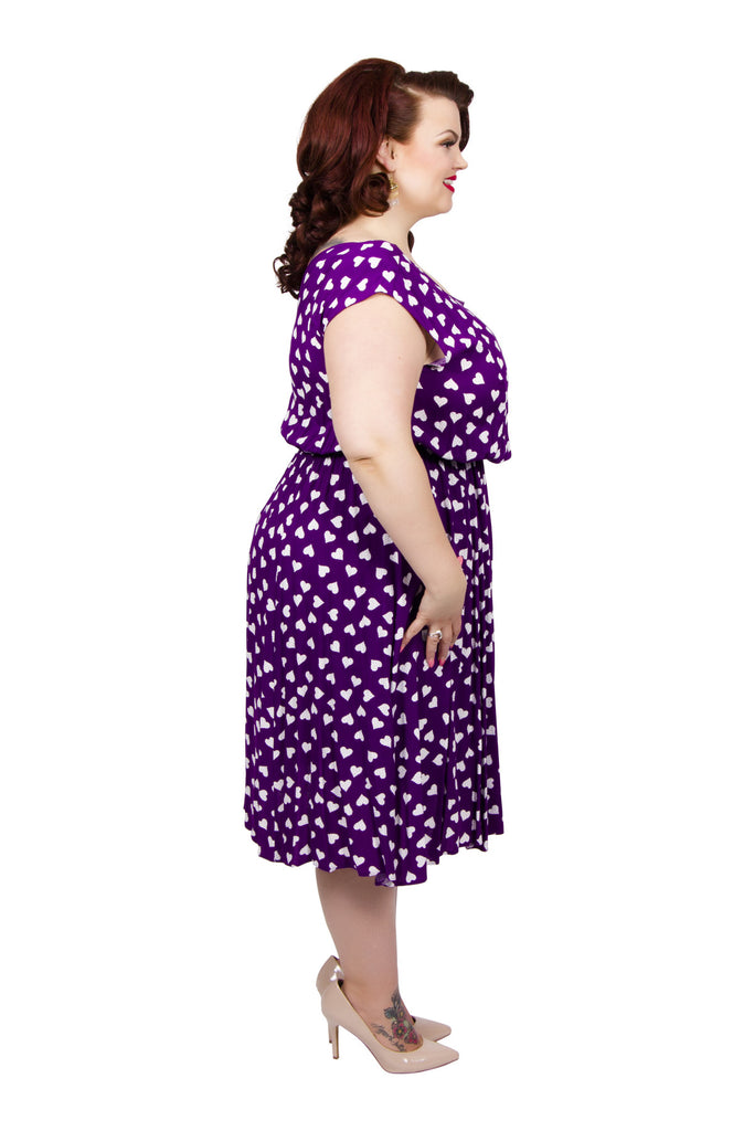 Lollidot Heart Print Dress