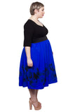 Sweetheart 2-In-1 Dress (Cobalt) - scarlettandjo  - 6