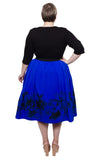 Sweetheart 2-In-1 Dress (Cobalt) - scarlettandjo  - 11