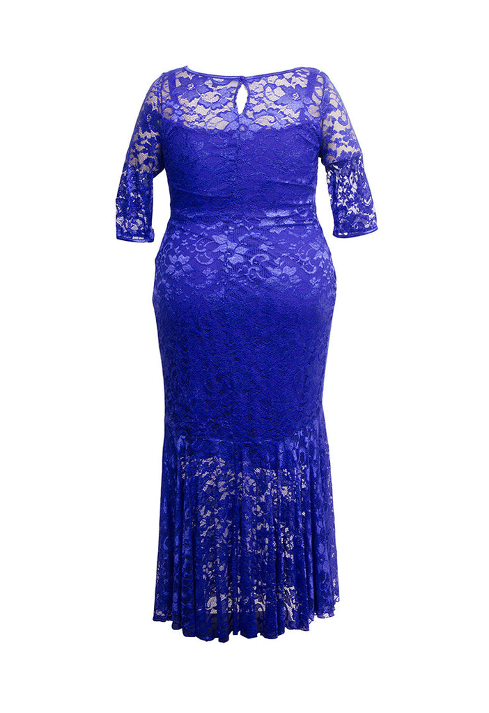 Fishtail Lace Maxi Dress - scarlettandjo  - 13