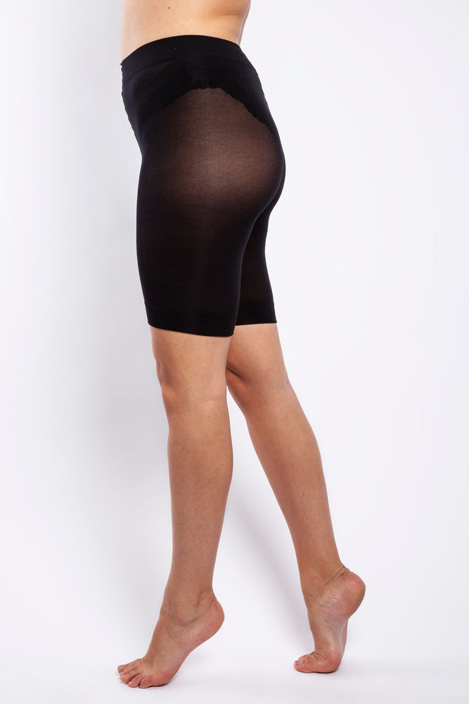 90 DENIER CURVY ANTI CHAFING SHORTS