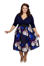 Wrap Floral 2 in 1 Dress