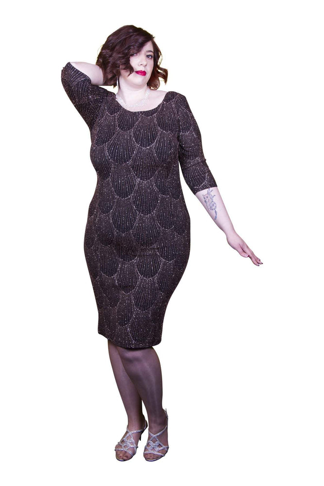 Scarlett & Jo Dresses Black / 10 Alice Art Deco Dress