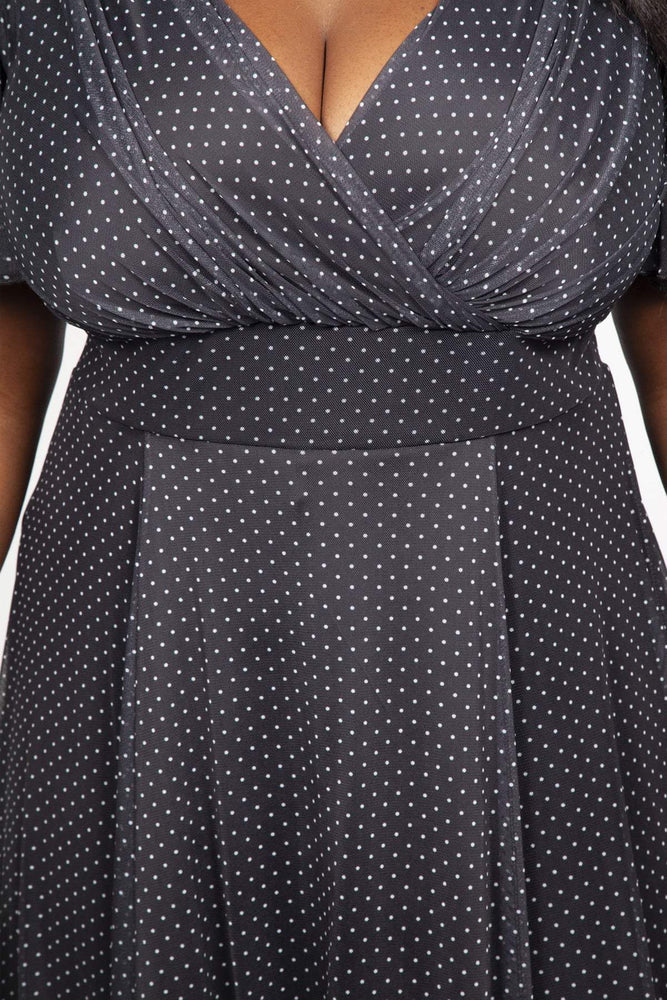Scarlett & Jo Dresses BLACK / 10 Baby Lollidot Angel Dress