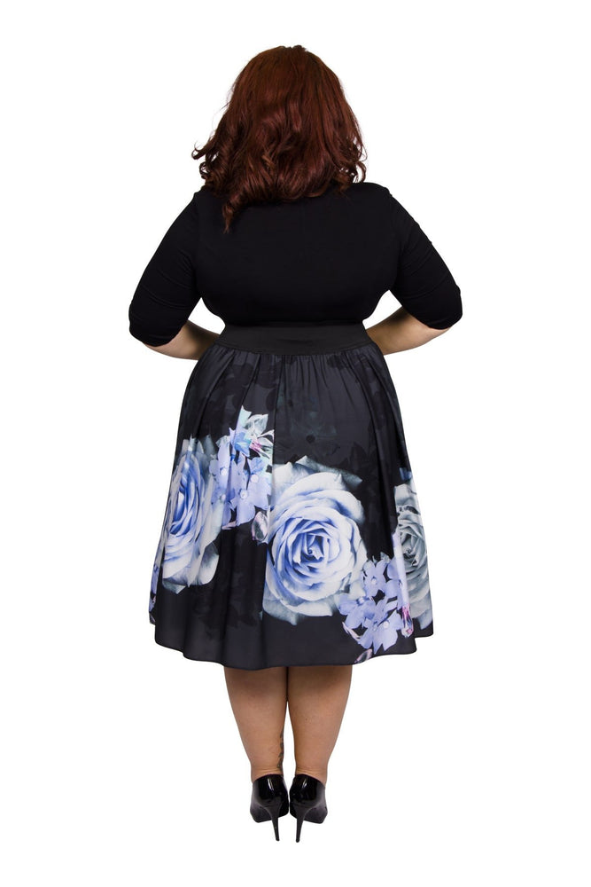 Scarlett & Jo Dresses Black/Blue / 10 Kelly Rose Bolero 2 in 1 Dress