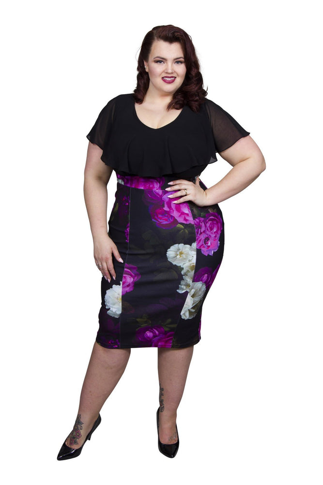 2-in-1 Pencil Dress