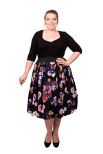 Sweetheart 2-In-1 Dress (Black Multi Floral)