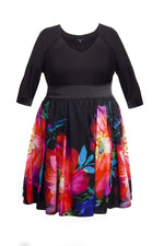Scarlett & Jo Dresses Black/Multi / 14 Sweetheart 2-In-1 Dress