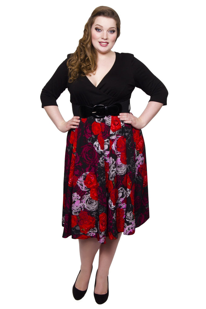 Wrap Floral 2-in-1 Dress