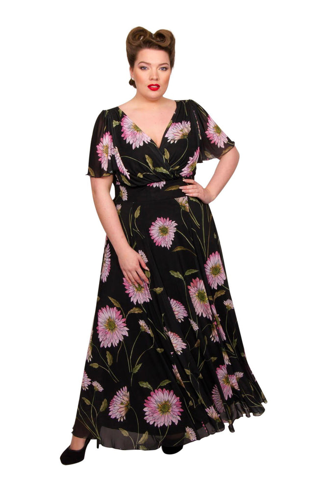 Marilyn Float Sleeve Maxi Dress