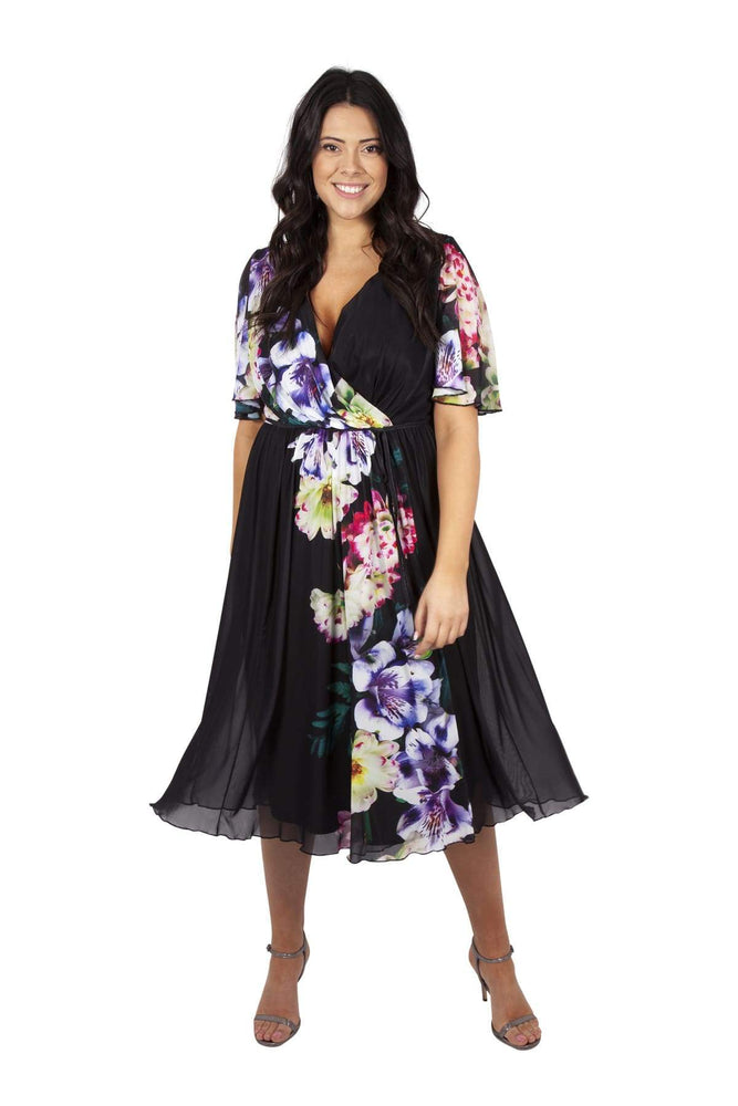 Yasmin Wrap Dress