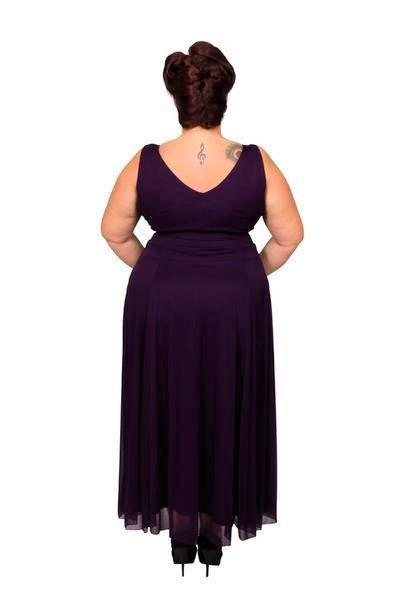 Scarlett & Jo Dresses Damson / 10 Nancy Marilyn Chiffon Maxi Dress