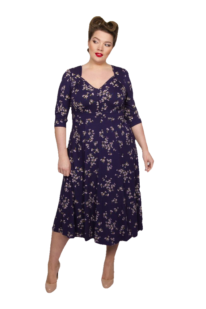 Iconic Ditsy Daisy 40's Dress