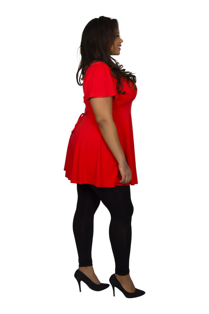 Scarlett & Jo Dresses Paprika Red / 10 Fit & Flare Tunic