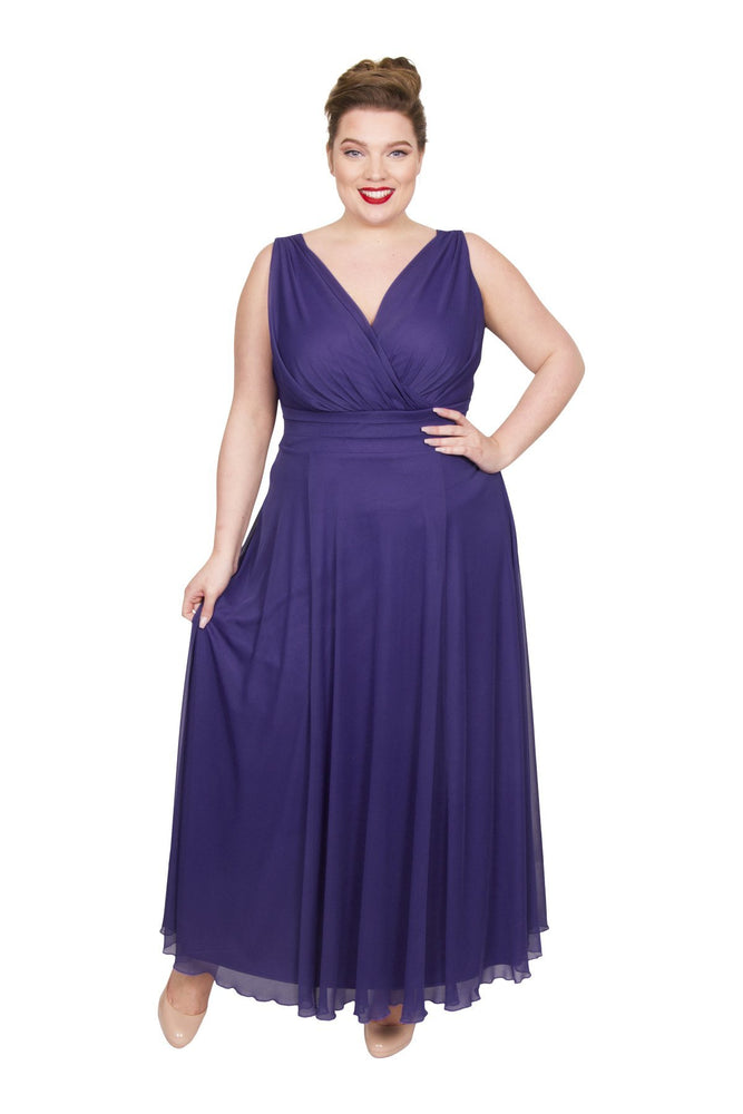 Nancy Marilyn Chiffon Maxi Dress