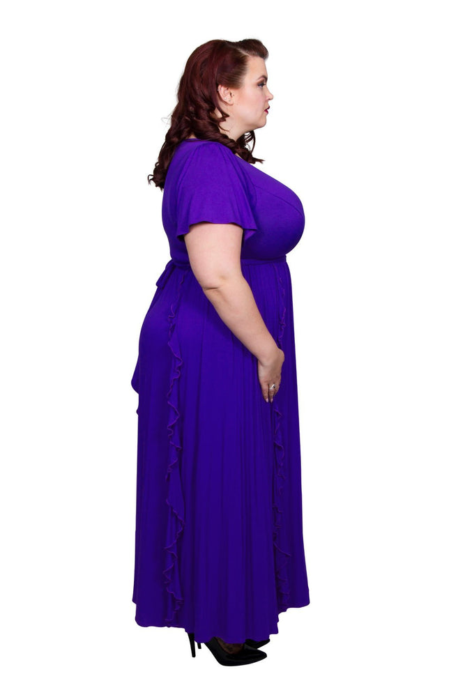 Scarlett & Jo Dresses Purple / 10 Positano Maxi Dress