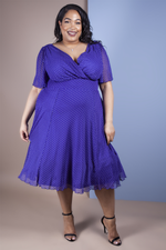 Scarlett & Jo Dresses SAPPHIRE / 10 Baby Lollidot Angel Dress