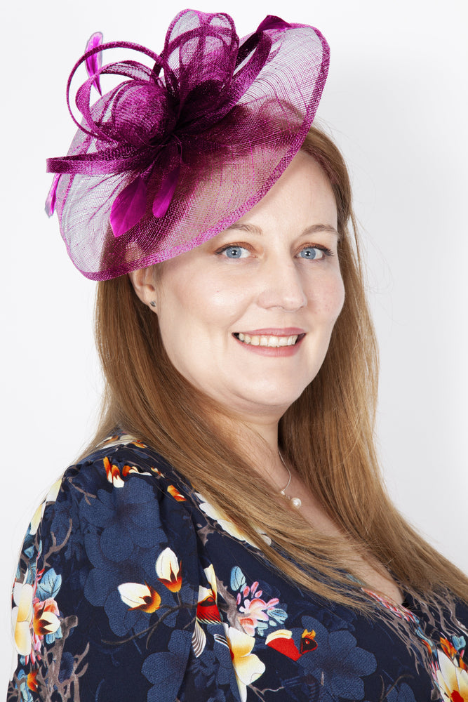 Side Disc Occasion Fascinator