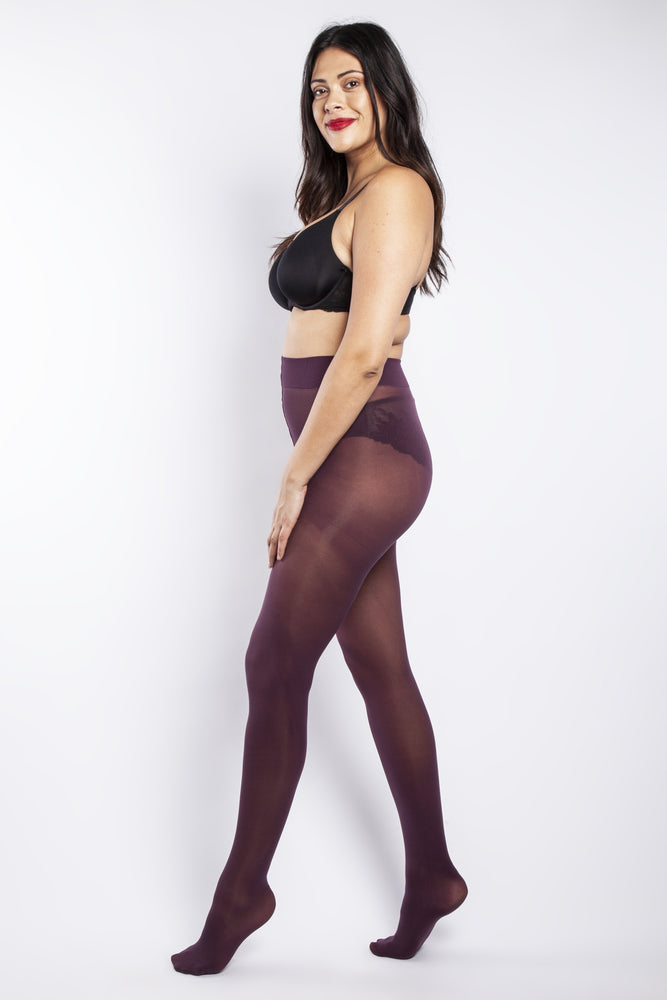 50 DENIER CURVY DAMSON TIGHTS