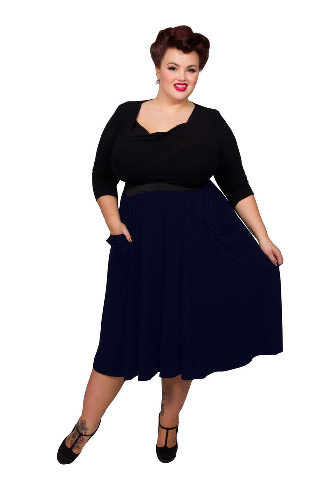 Scarlett & Jo Skirts Midnight / 12 Pocket Skirt