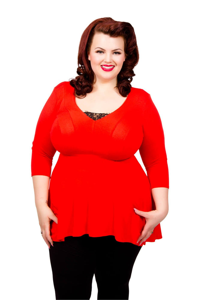Scarlett & Jo Tops Slimline Miracle Tunic Top