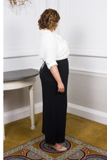 Scarlett & Jo Trousers Black / 10 The Bette Lounge Pant
