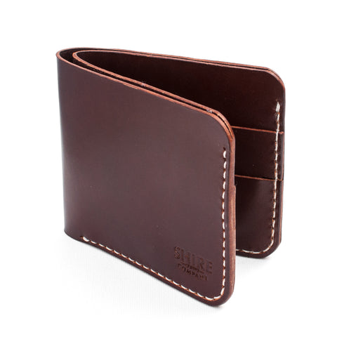 "The ""Usher"" Bifold Wallet - From Shire Supply Company."