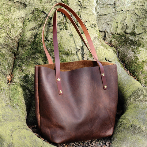 The Coleby Leather Tote - From Shire Supply Company