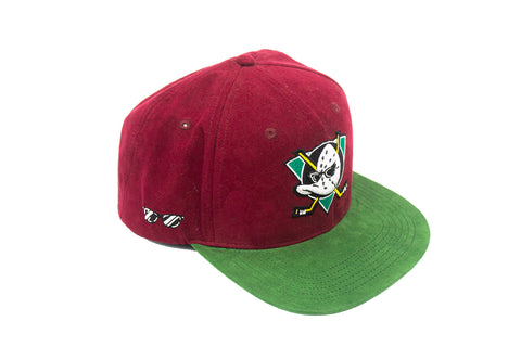 Mighty Smooth Suede Ducks Snapback