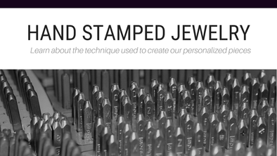 Hand Stamped Jewelry - How It's Made