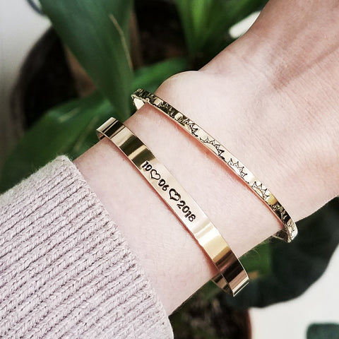 Gold-Filled Cuff Bracelets