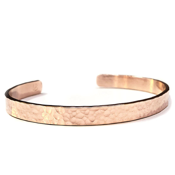 Hammered Cuff - Lauren Shaddow Jewelry