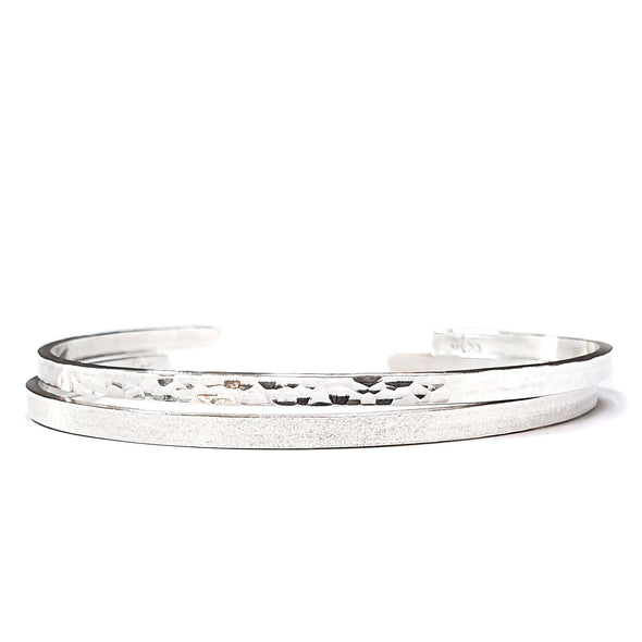 Sterling Silver Dainty Duo