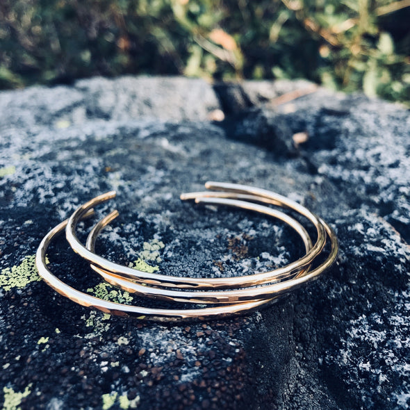 Gold Minimalist Bracelets - Lauren Shaddow Jewelry