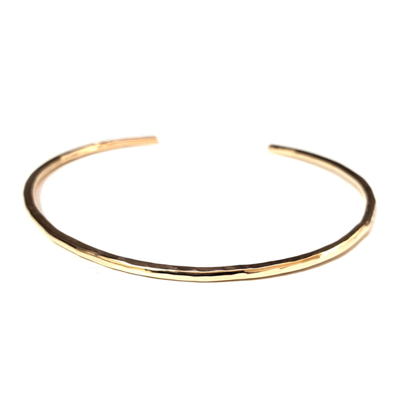 Mixed Texture Cuff Set - 10K, 14K, or 18K Gold