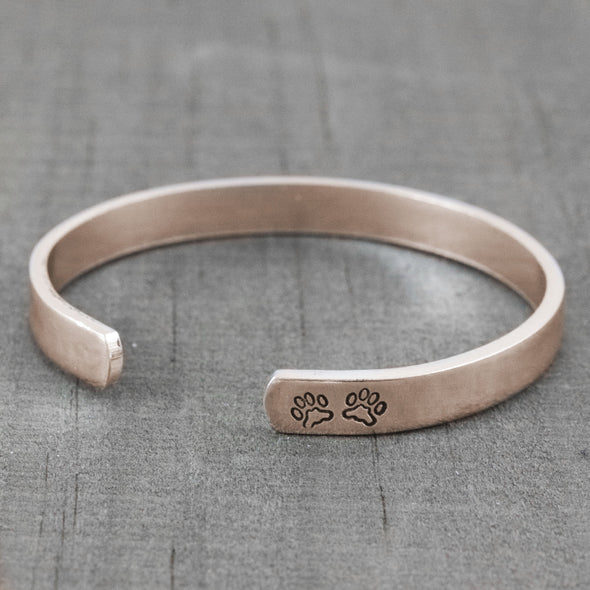 Personalized Pet Memorial Bracelet - Lauren Shaddow Jewelry