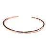 Minimalist Bracelet in 14K Rose Gold - Lauren Shaddow Jewelry