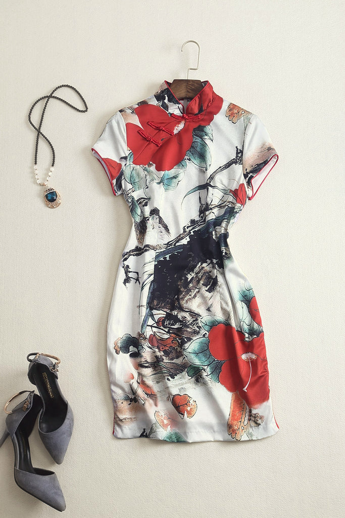 Shop Sensibilities artistic Chinese dress for formal weddings and special occasions