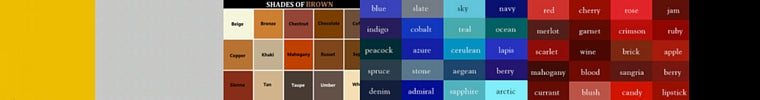 Sensibilitie fashion blog on color matching guide