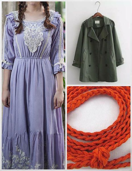 Sensibilitie color matching tips for lavender outfit