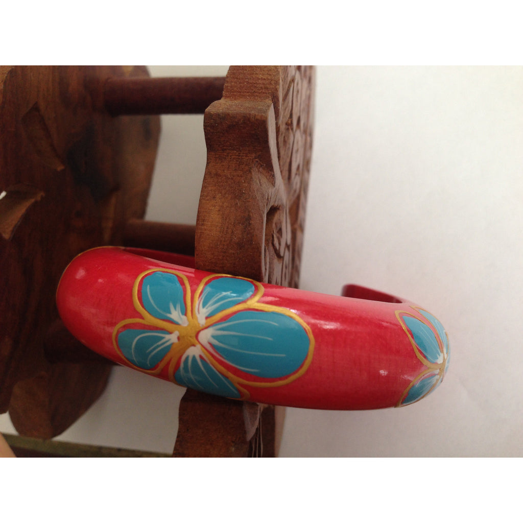 Bold Hand Painted Bangle