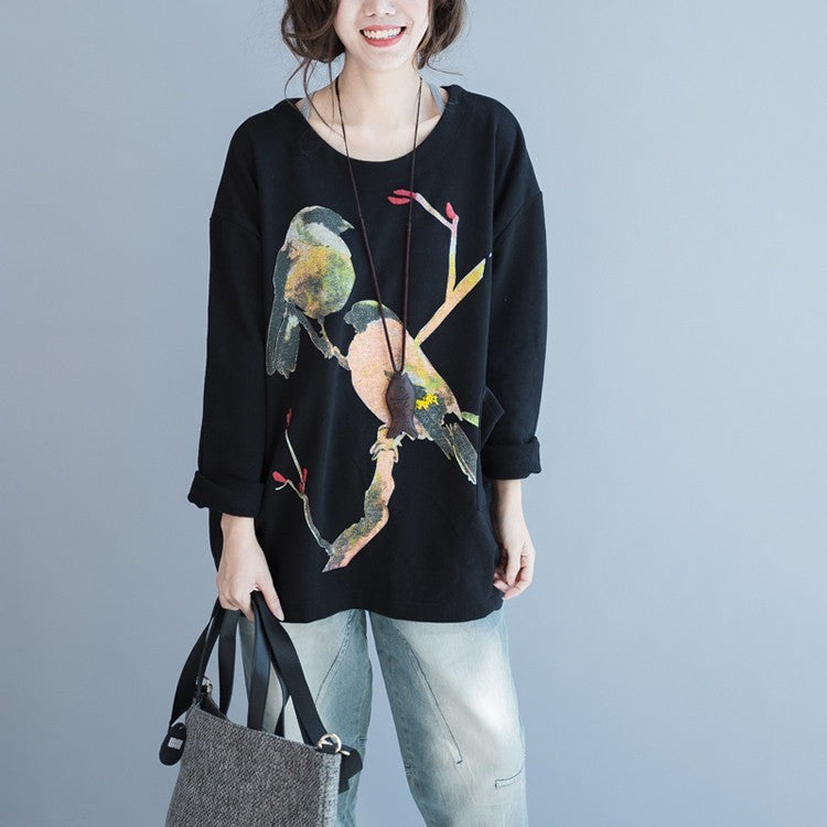 Bird knit top