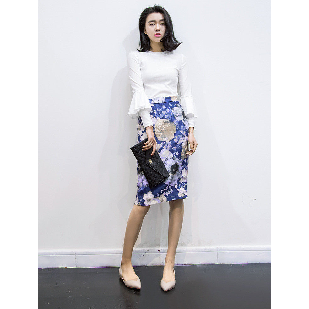artistic pencil skirt