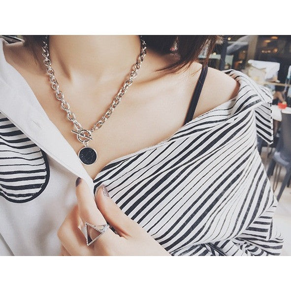 Chain Marble Necklace
