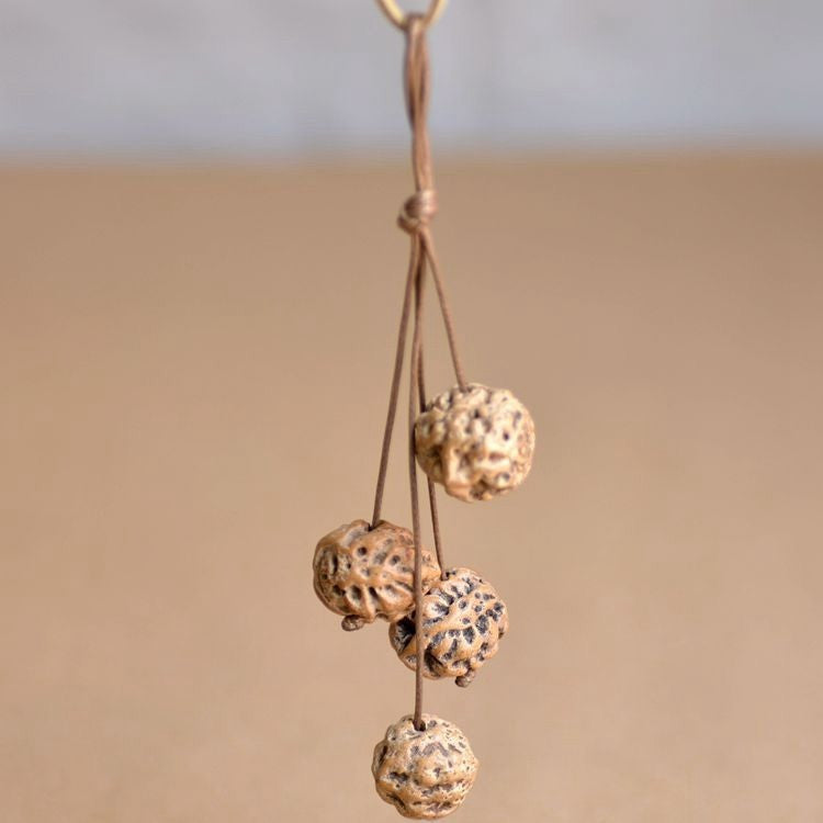 Hanging Fruits Necklace (Lotus)