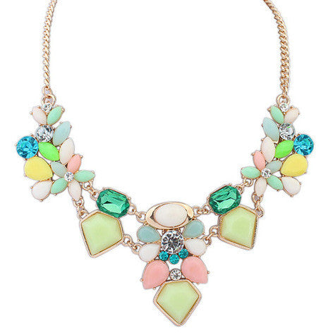 candy geometric necklace